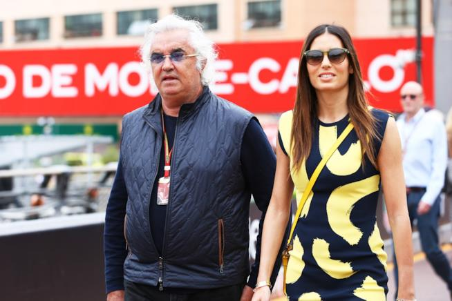 Elisabetta Gregoraci e Flavio Briatore a Montecarlo