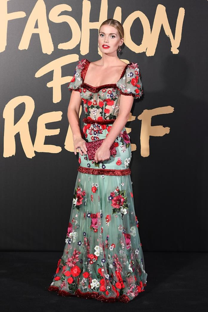 Kitty Spencer all'evento Fashion for Relief