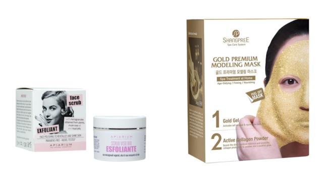 Scrub Apiarium e Gold Premium Modeling Rubber Mask di Shangpree