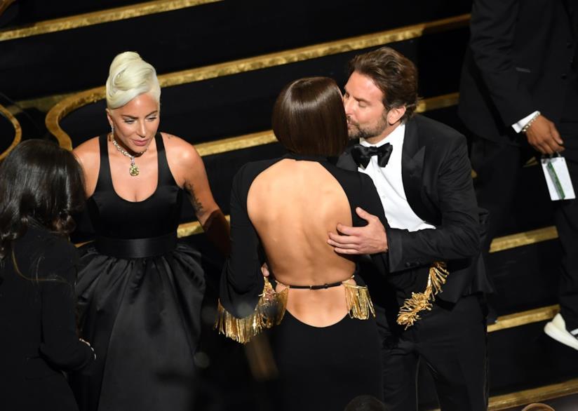 Bradley Cooper, Irina Shayk e Lady Gaga