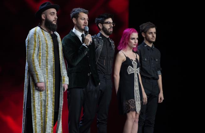 Ros e Andrea Radice X Factor Italia 2017