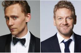 Un collage tra Tom Hiddleston e Kenneth Branagh