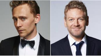 Un collage tra Tom Hiddleston e Kenneth Branagh
