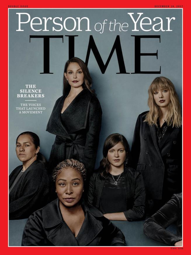 La copertina del Time dedicata alla silence breakers