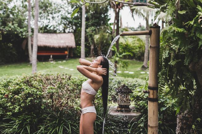 Vacanza in uno spa resort a Bali in Indonesia