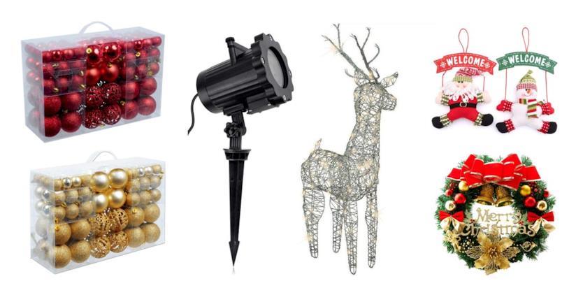 Addobbi e Decorazioni natalizie da comprare su Amazon