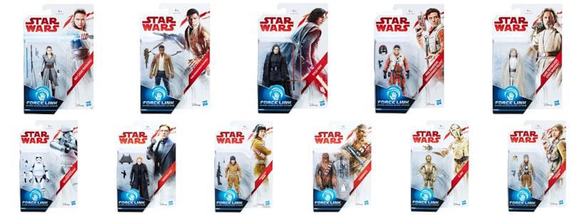 Le action figures di Hasbro per Star Wars Episodio 8
