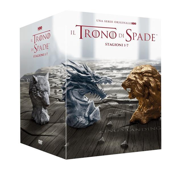Cofanetto DVD de Il Trono di Spade - Stagioni 1-7