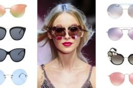 I modelli più belli degli occhiali da sole P/E 2018