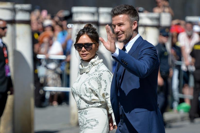 La famiglia Beckham in vacanza in Puglia