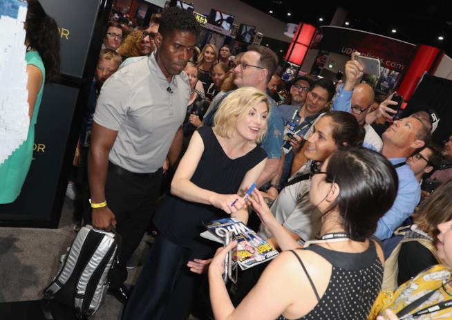 Jodie Whittaker al Comic-Con
