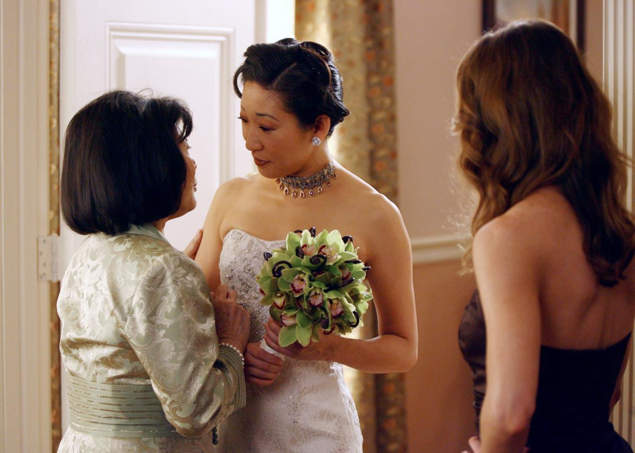 Cristina Yang parla con la madre