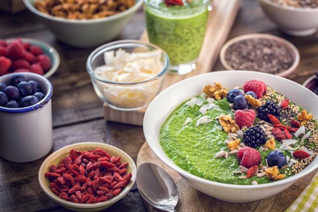 Cibo sano versus cibo spazzatura