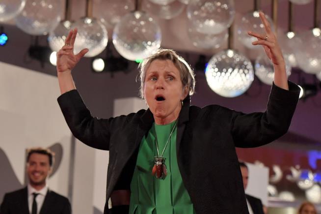 Frances McDormand a Venezia 74