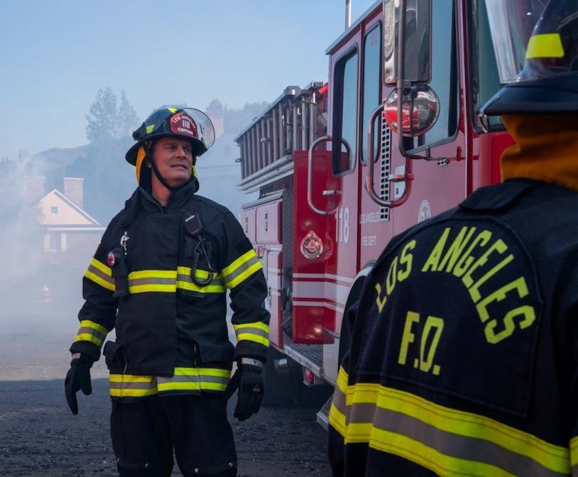Un'immagine dall'episodio 2x14 di 911