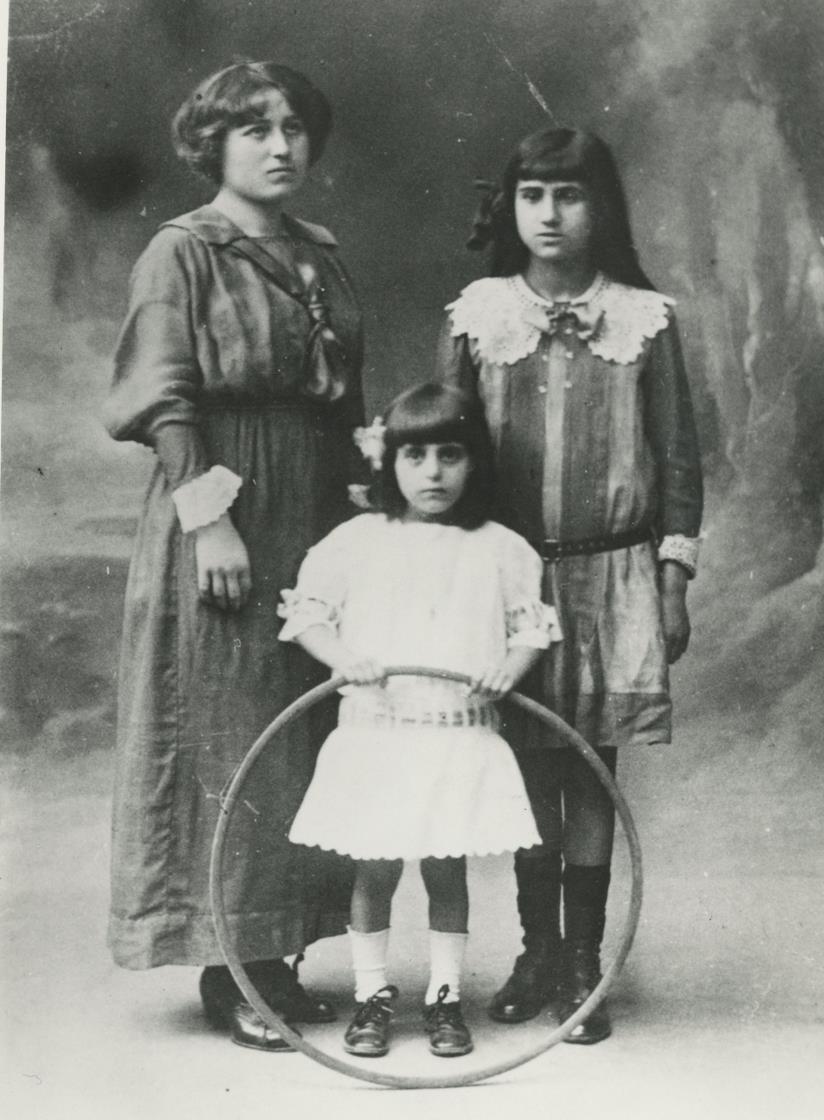 Anna Magnani da piccola