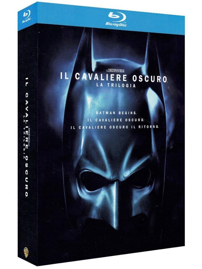 Cofanetto Blu-ray di Batman Begins, Il Cavaliere Oscuro e Il Cavaliere Oscuro - Il Ritorno