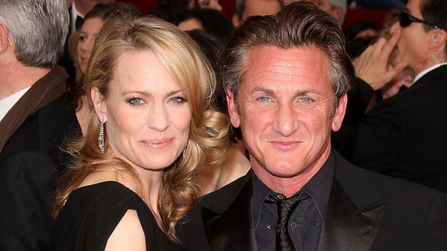La coppia Sean Penn e Robin Wright