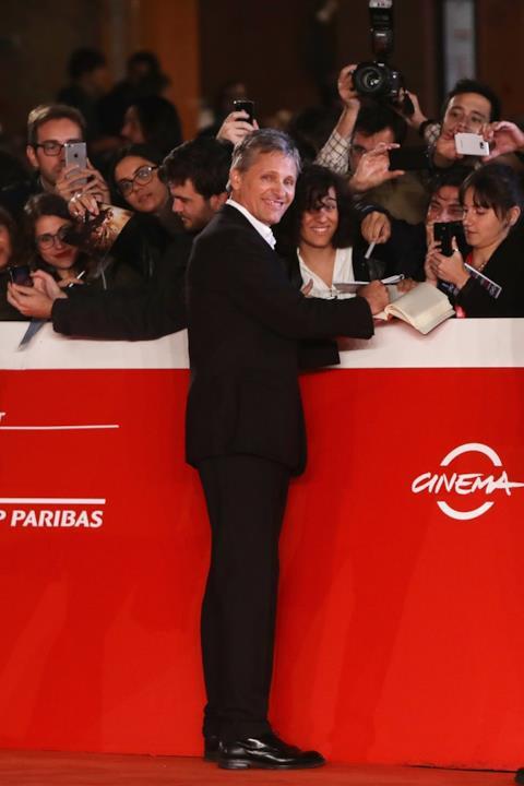 Viggo Mortensen incontra il pubblico della Festa del Cinema di Roma