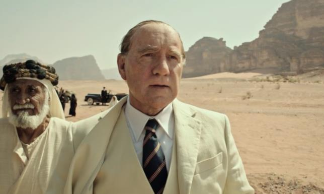Kevin Spacey in una scena di Tutti i Soldi del Mondo