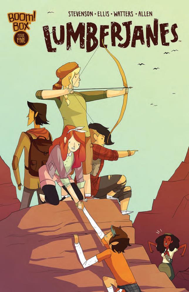 Lumberjanes è tra le migliori graphic novel da leggere durante l'estate