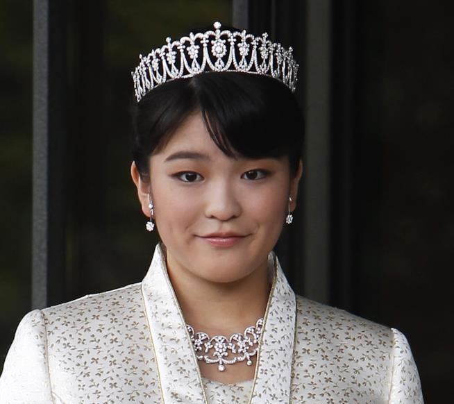 Primo piano della principessa Mako
