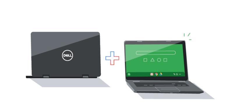 Due icone di DELL Chromebook