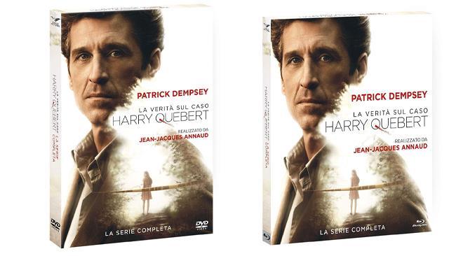 La verità sul caso Harry Quebert - la serie nei formati DVD e Blu-ray