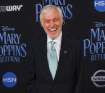 Dick Van Dyke alla prima de Il Ritorno di Mary Poppins
