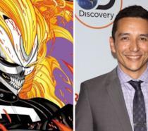 Ghost Rider e l'attore Gabriel Luna che lo interpreterà nello show
