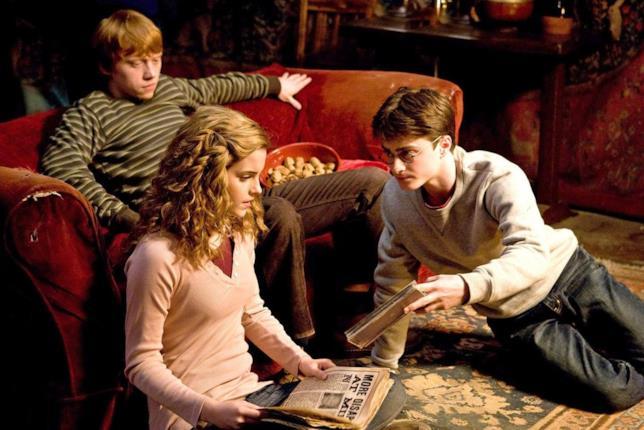 Un'immagine tratta da Harry Potter e il Principe Mezzosangue
