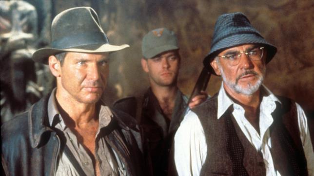 Una scena di un film di Indiana Jones