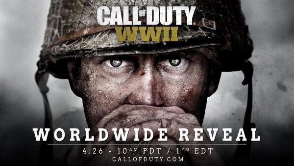 Call of Duty: WWII annunciato ufficialmente