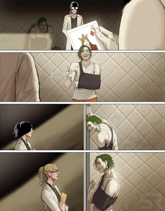 La dottoressa incontra il Joker