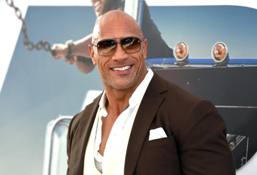 """Dwayne """"The Rock"""" Johnson, attore americano"""