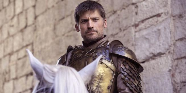 Un'immagine di Game of Thrones con al centro Jaime Lannister
