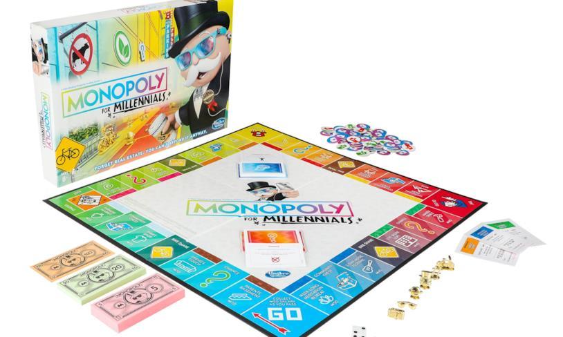 La box Monopoly per Millennials