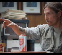 Matthew McConaughey nel ruolo di Rust Cohle