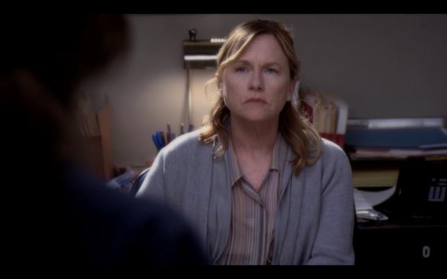 Amy Madigan nei panni di Katherine Wyatt