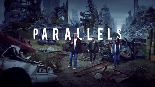 I protagonisti del film Parallels, su cui si baserà la serie TV The Building