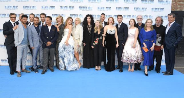 Mamma Mia! Ci risiamo - il cast