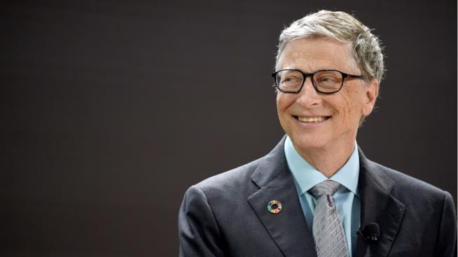 Bill Gates in primo piano
