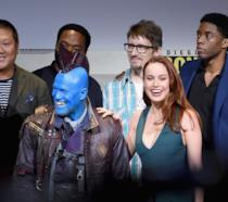 Brie Larson e Michael Rooker al panel degli Studi Marvel, SDCC 2016