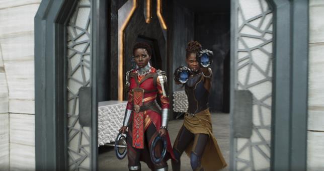 Nakia e Shuri pronte ad affrontare Killmonger