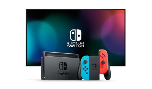 Nintendo Switch in modalità TV