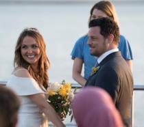 Una scena dal matrimonio di Jo e Alex