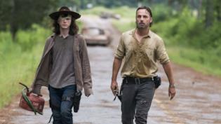 The Walking Dead: Carl e Rick Grimes