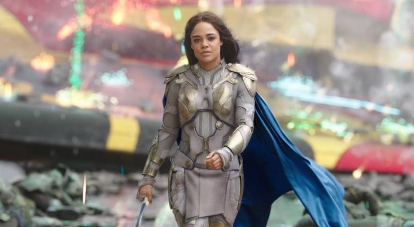 Tessa Thompson come Valchiria in Thor: Ragnarok
