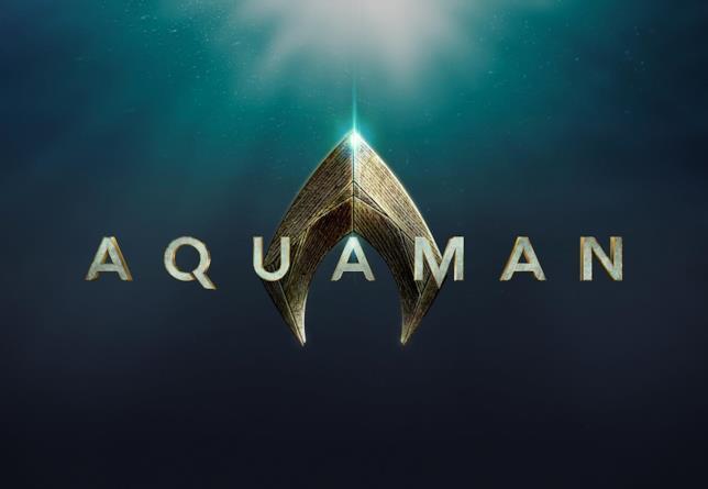 Il logo del film DC Aquaman