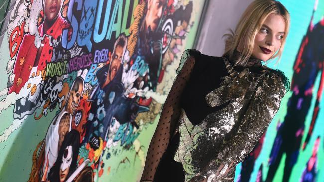 Margot Robbie alla prima di Suicide Squad